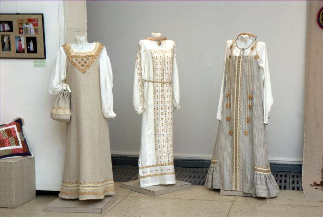 Из коллекций Старинный косоклин и Её величество рубаха