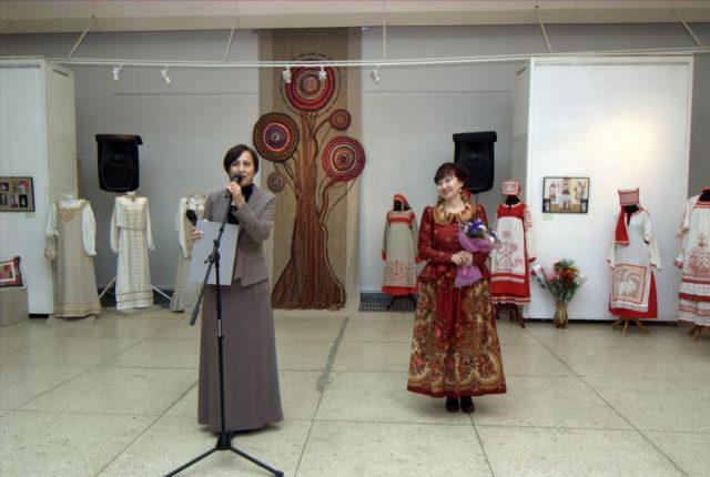 3 Открытие персональной выставки